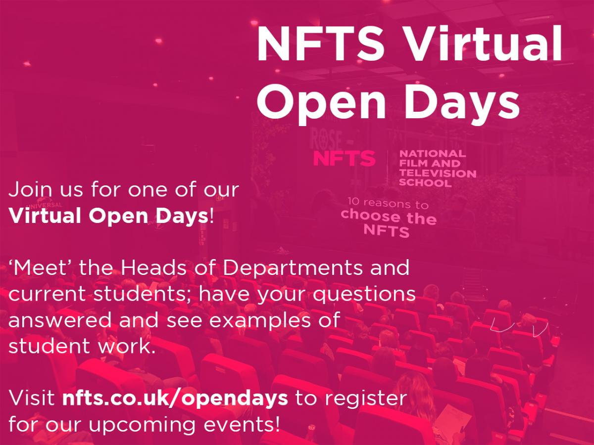 Virtual Open Days poster