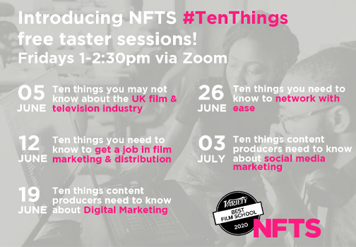 NFTS Ten Things poster