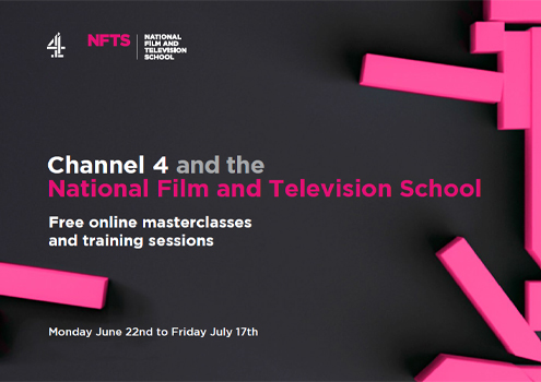 Ch4 and NFTS online masterclasses poster