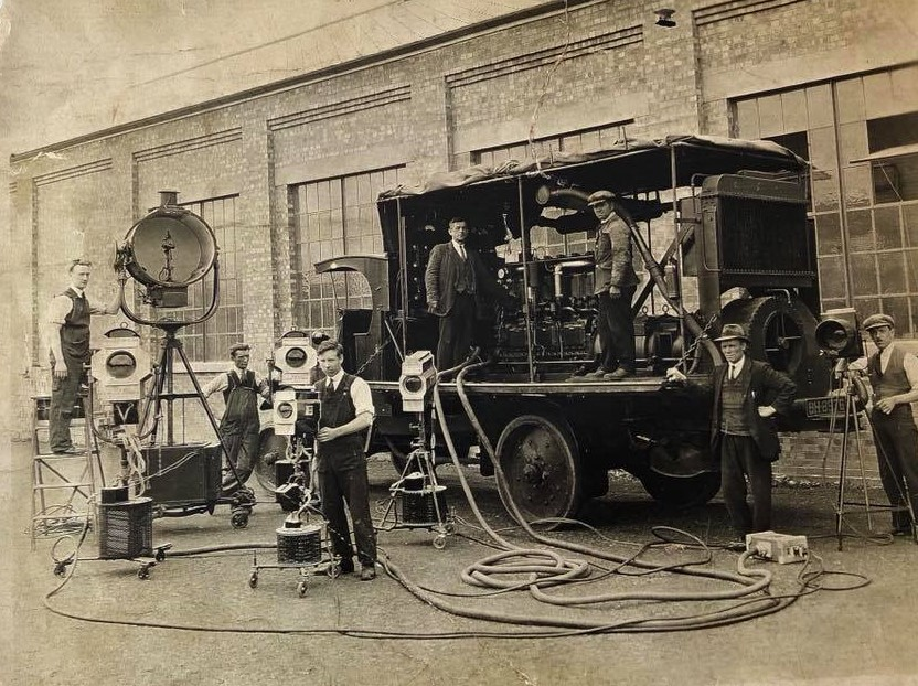 Pic of Beaconsfield Studios in the 1920s