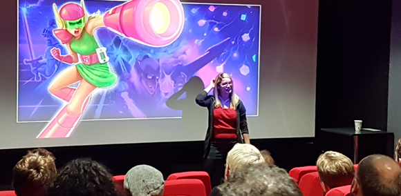 NFTS Grad Ana Ribeiro Inspires Games Design Students with