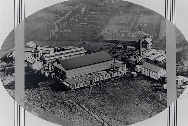 Pic of Beaconsfield Studios in the 1930s