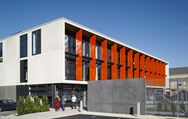 Pic of Oswald Morris building opened in 2008