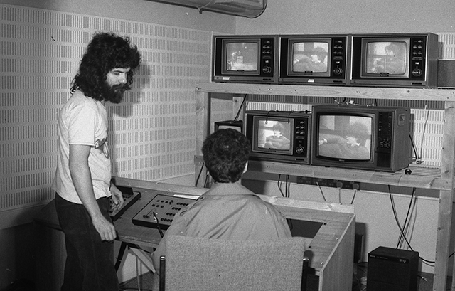 Pic of TV gallery in 1970s