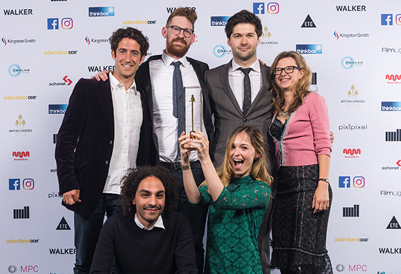 British Arrows award-winning team from NFTS