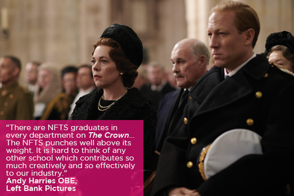 The Crown quote banner